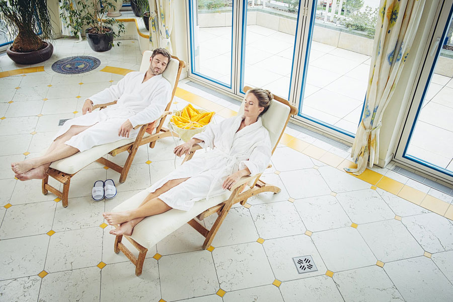 Hotel Neuhintertux: relaxing in wellness oasis
